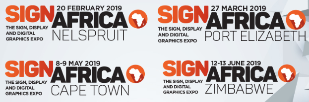 Sign Africa Expo announces 2019 Expo dates.