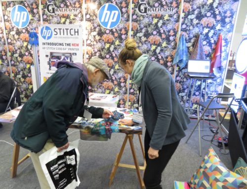 Graficomp Presents HP Stitch Printed Textile Samples