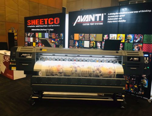 Sheetco Exhibits Avanti Sublimation Printer At Sign Africa Durban Expo