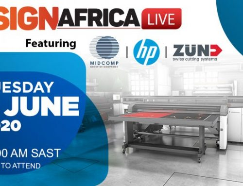 Join Sign Africa LIVE For A Free Equipment Demonstration And Covid-19 Applications Session