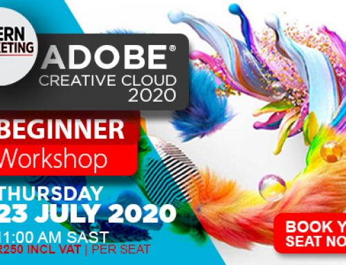 Book Now For The Adobe Online Beginner Workshop
