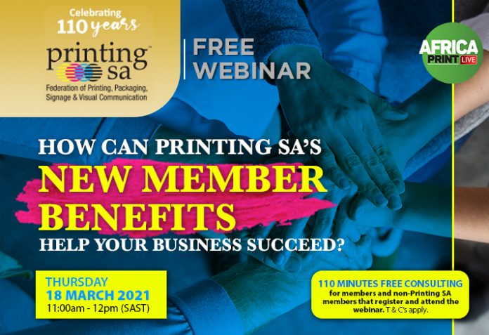 Free Webinar- How Can Printing SA's New Member Benefits Help Your Signage Business Succeed?
